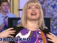 Głupia blondynka na programie telewizyjnym