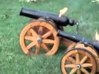 Armaty zabawki, które strzelają naprawdę