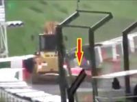Jeden z najtragiczniejszych wypadków F1 na torze SUZUKA, podczas Grand Prix Japonii w 2014