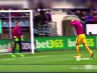 Luis Suarez konpnął małego kibica w twarz