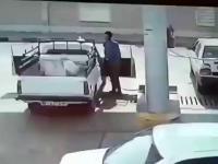 Eksplozja podczas tankowania - Dailymotion Wideo