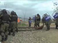 Imigranci szturmują grecką granicę...