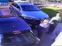 Bezczelne pobicie oraz kradzież Audi Q7 spod domu