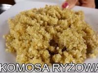 Komosa ryżowa. Quinoa. Święte zboże Inków. MENU Dorotki.