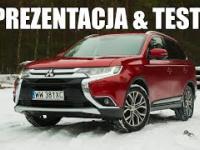 Mitsubishi Outlander 2016 2.0 150 KM CVT TEST PREZENTACJA