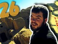 26 Przez Świat na Fazie - Iran - sylwester, opuszczona wioska Kharanaq