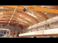 Drewno gięto-klejone produkowane w Polsce