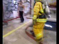 Strażacka wpadka