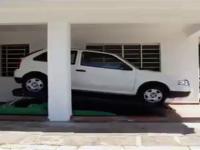 Parking w niezwykły sposób