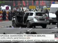 Eksplozja samochodu w Berlinie