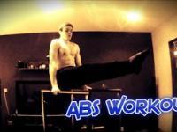 ABS na poręczach - Ćwiczenia.