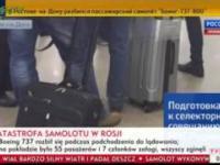 Katastrofa samolotu w Rosji Zginęły 62 osoby