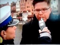 Filip Chajzer pijany - prawie 3 promile po zjedzeniu 2 cukierków