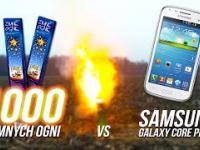 1000 zimnych ogni kontra Samung Galaxy Core Plus