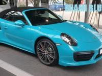 Porsche 911 Turbo Cabrio Miami Blue (991.2) 2016 Prezentacja