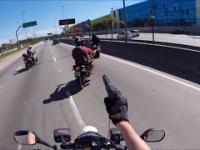 Pościgi motocyklowe w Brazylii