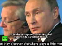 Putin powiedział wszystkim kto tak naprawdę wykreował ISIS. Napisy PL