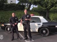 Imprezowi policjanci