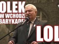 Wałęsa grozi, że znowu będzie walczył! :D