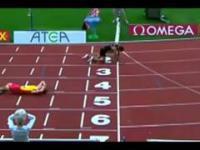 Dwa lekkoatleta padł przed metą podczas mundialu