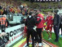 Kłótnia po meczu Jagiellonia - Podbeskidzie