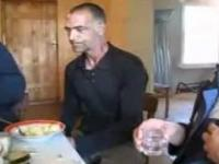 Rusek pije spirytus na delirce