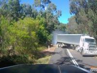 Niespodziewana przeszkoda na drodze