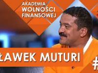 Człowiek, który odwiedził wszystkie kraje świata - Sławek Muturi Akademia Wolności Finansowej 2