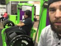 Siłowania na wesoło thug live on the gym