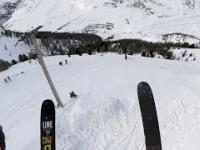 GoPro: Léo Taillefer wins the February 2016 Line of the Winter:- Val d'lsére, France