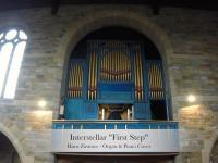 Utwór First Step z filmu Interstellar zagrany na kościelnych organach