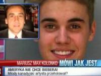 Mariusz Max Kolonko masakruje Justina Biebera