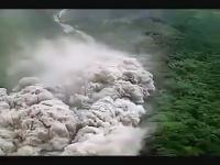 Lawina piroklastyczna, która zabiła 43 osoby, w tym najsłynniejszych wulkanologów na świecie