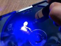 Najsilniejszy laser w długopisie na świecie.