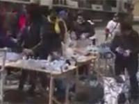Ludzie kradną wodę przeznaczona dla maratończyków