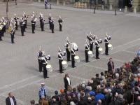 Dancing Queen w wykonaniu orkiestry królewskiej z okazji urodzin króla Szwecji