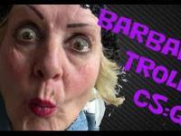 BARBARA KWARC gra w CS:GO (Troll na FFA)