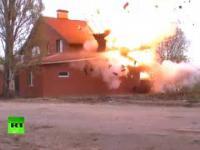 Rosjanie wysadzili nielegalny meczet w powietrze