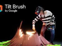 Tilt Brush: Trzeci wymiar rysowania