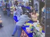 Nieudany napad w sklepie