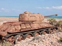 Widmo Drugiej Wojny Światowej: opuszczone czołgi