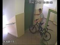 Kradzież roweru - Warszawa, Nowodwory