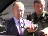 Generał pokazywał Putinowi samochód i ...urwał klamkę