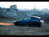 Honda CRX 1.5 - przyspieszenie