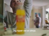 Polacy reklamują norweską oranżadę