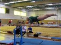 Gimnastyczna babcia