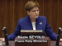 Schetyna kontra Szydło w Sejmie o komunikacie KE
