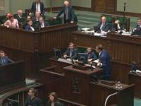 Wystąpienie pijanego posła na mównicy Sejmu - Zbigniew Ajchler