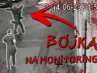 Brutalne pobicia nagrane na monitoringu