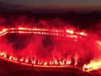 Piękna oprawa Legii Warszawa na 100 lecie klubu